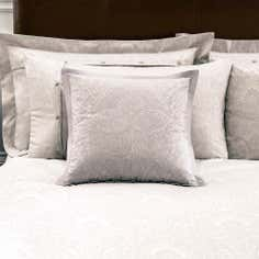 Dorma Natural Paisley Collection Cushion