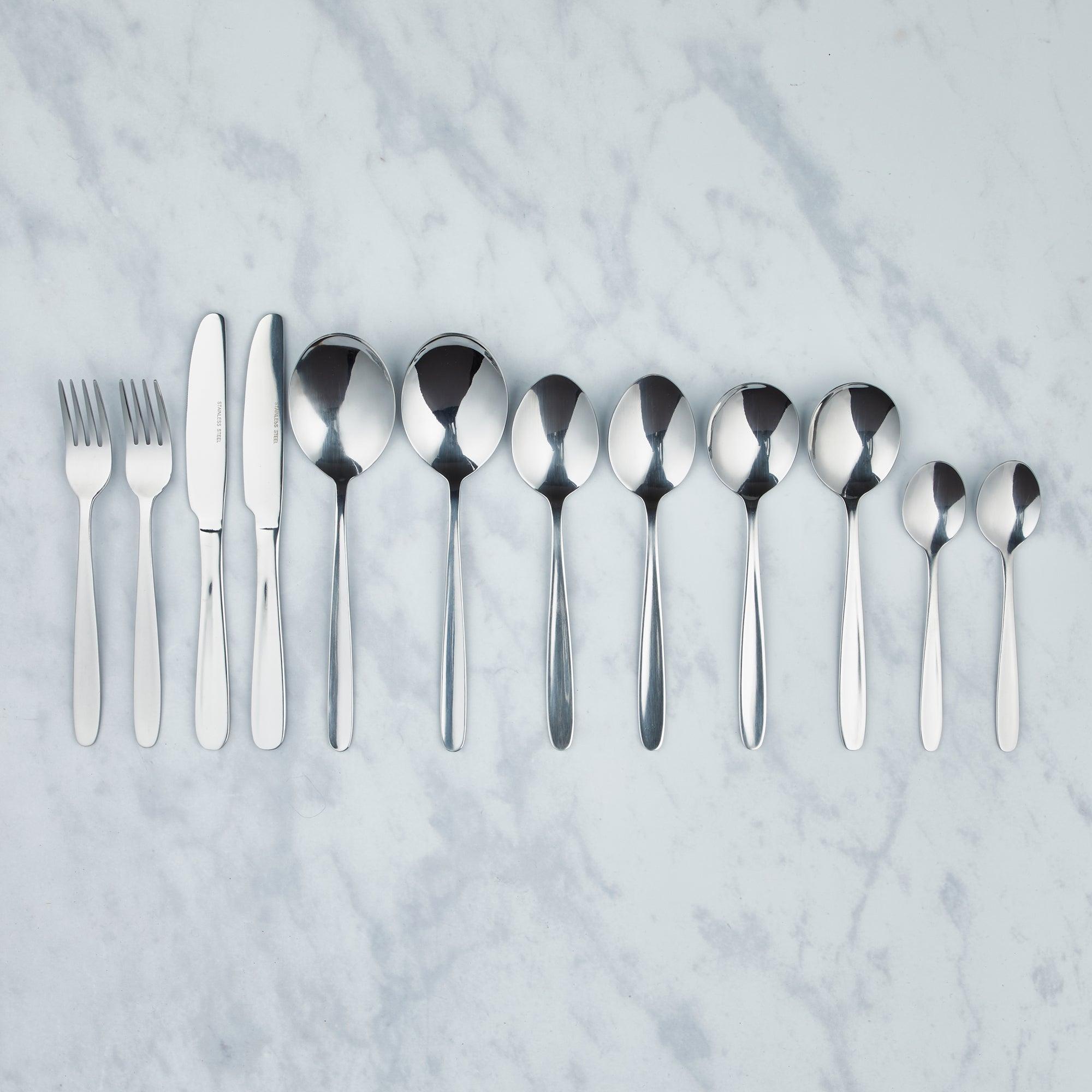 Simply York 50 Piece Cutlery Set
