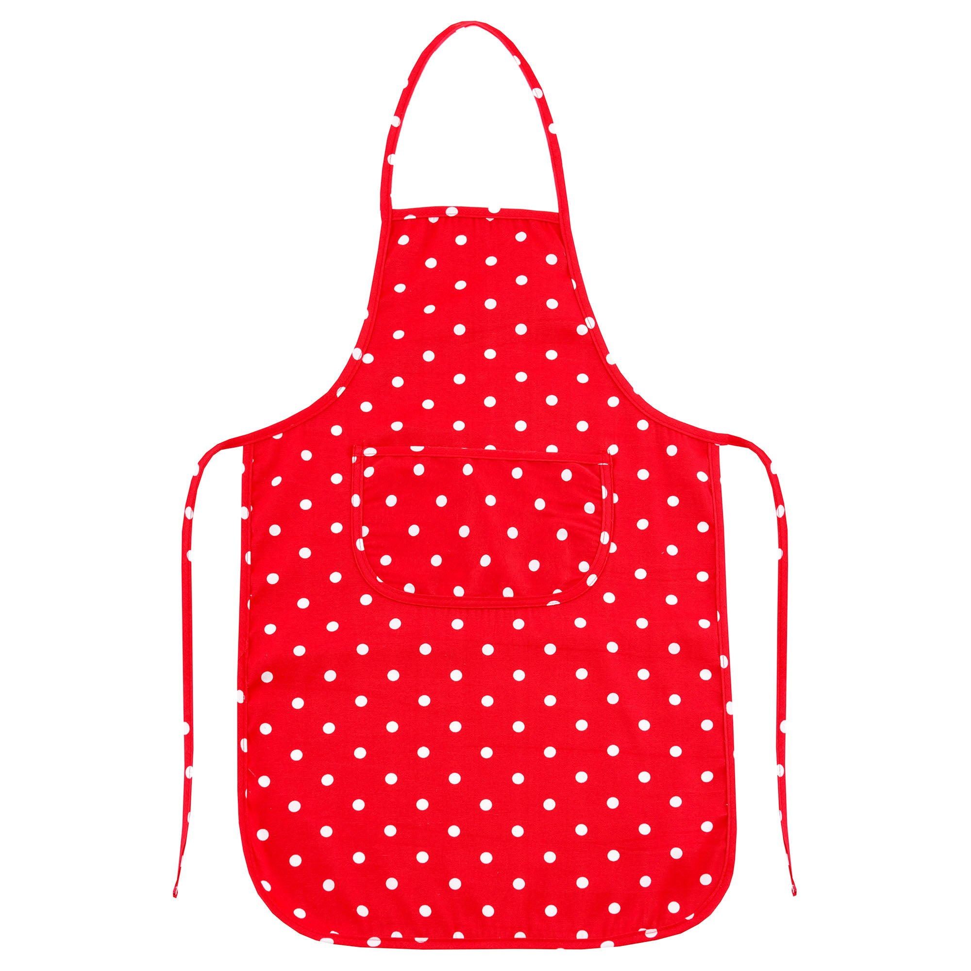 Red Dotty Collection Apron