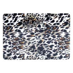 Jazz Age Collection Set of 4 Leopard Print Placemats