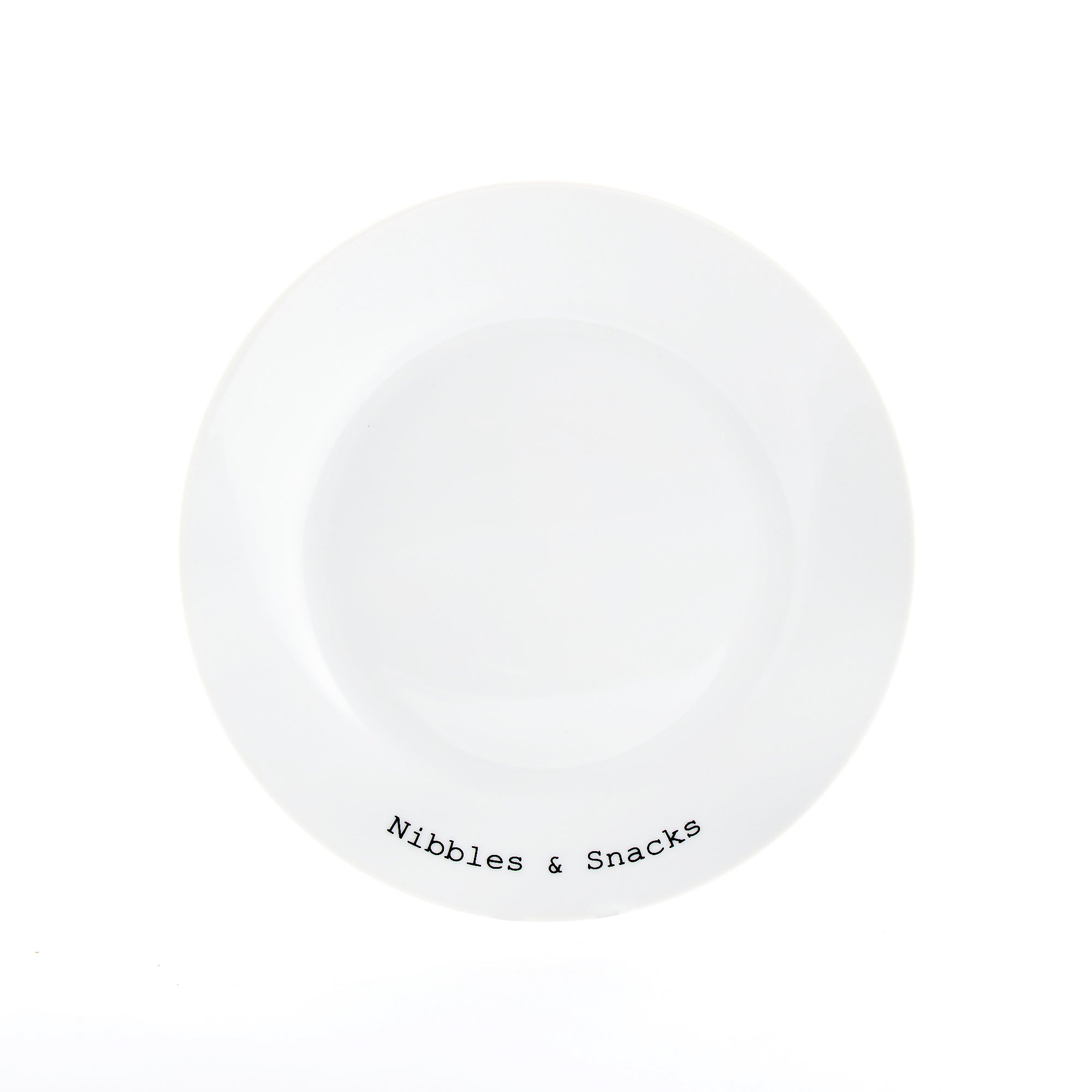 Text Collection Side Plate