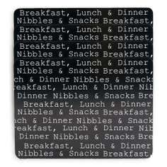 Text Collection Set of 4 Placemats