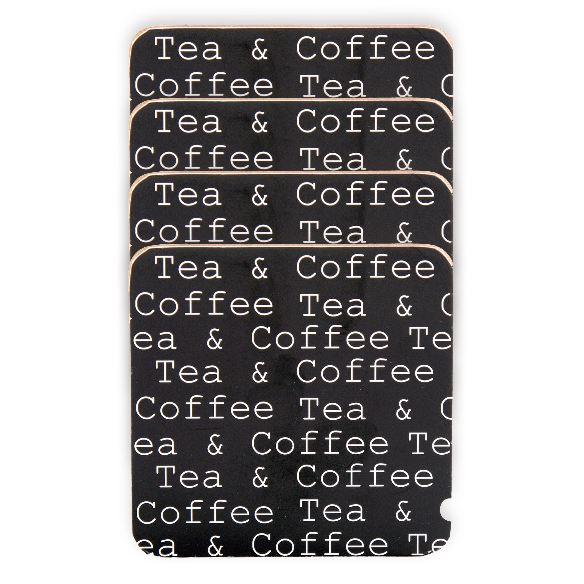 Text Collection Set of 4 Coasters