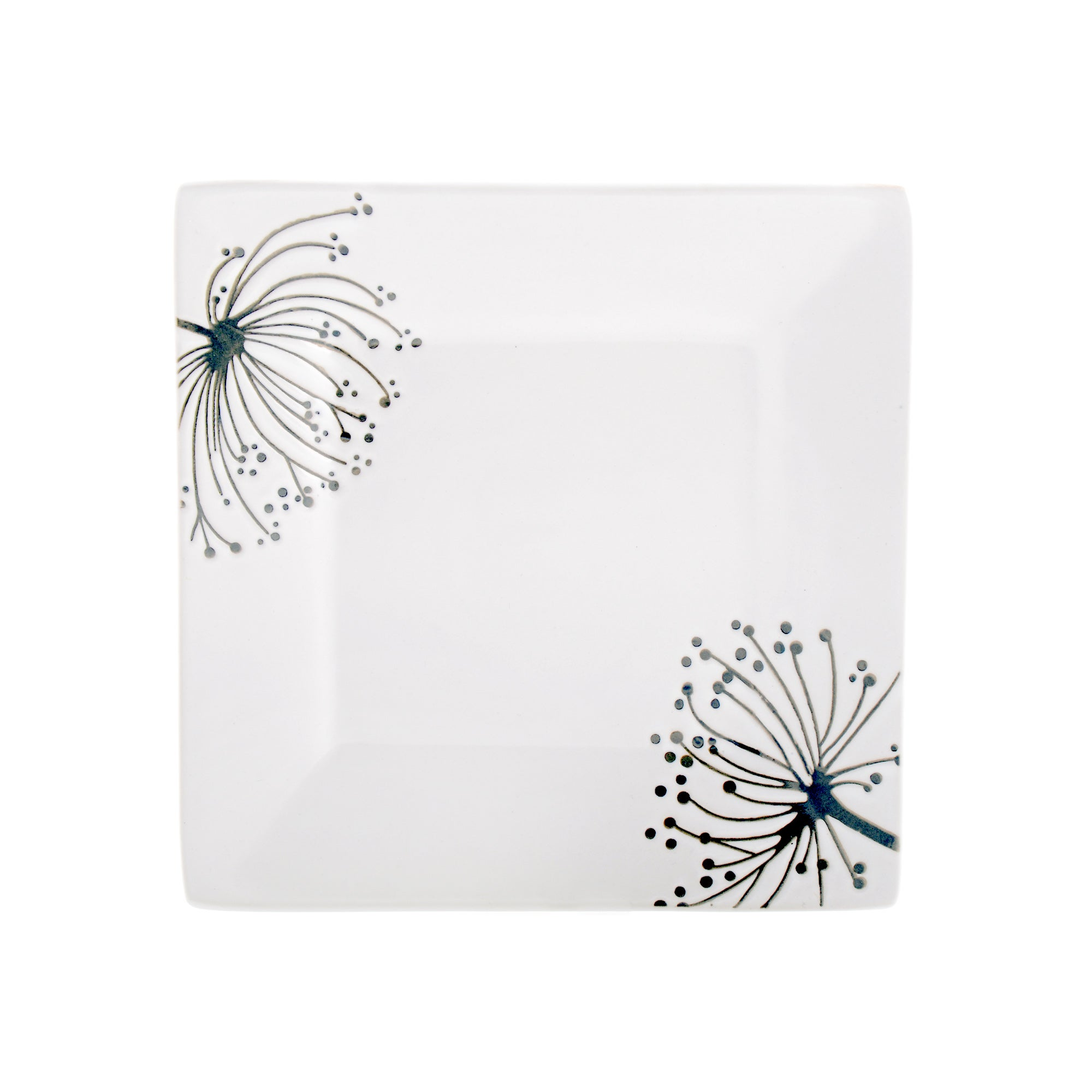 Square Sprig Collection Side Plate