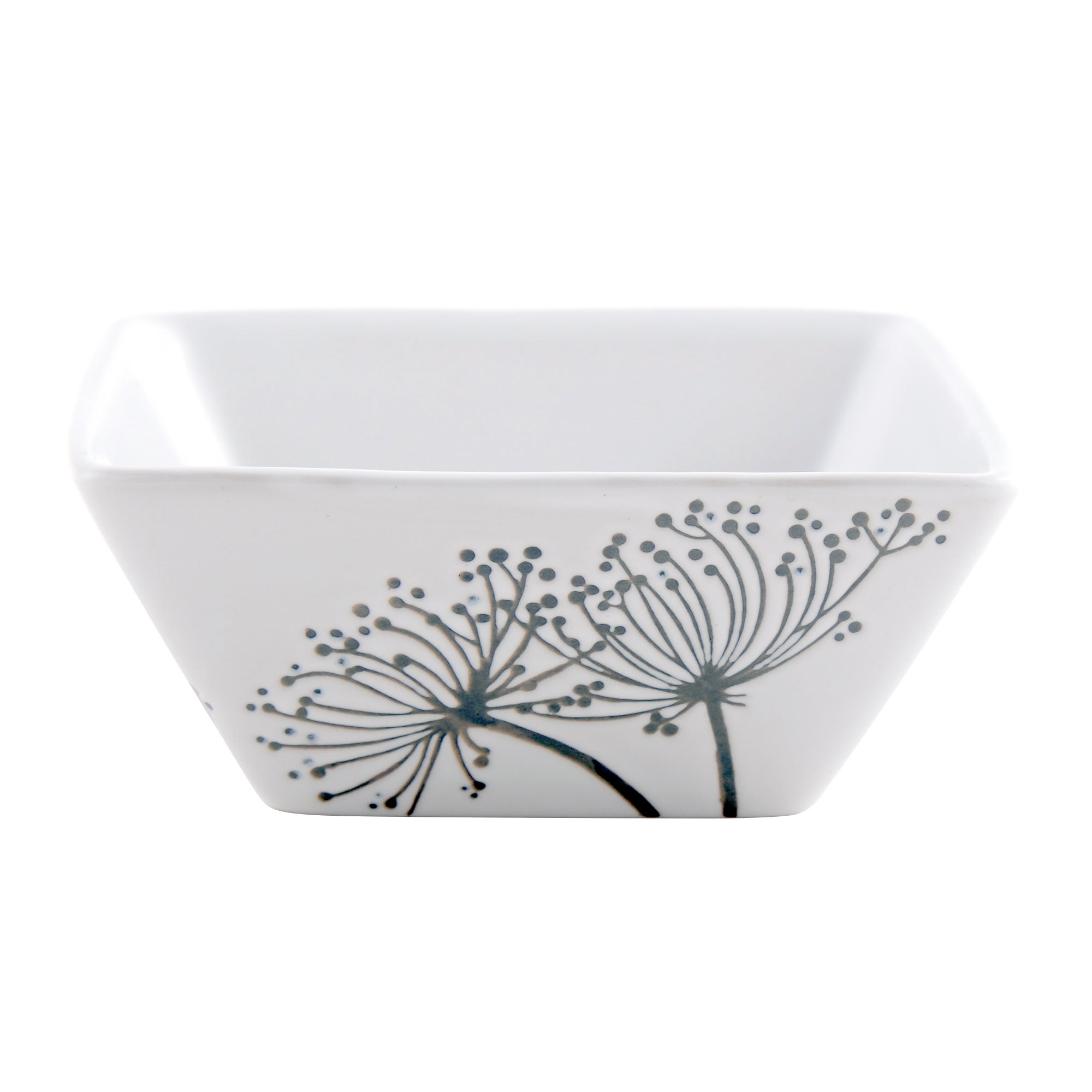 Square Sprig Collection Bowl