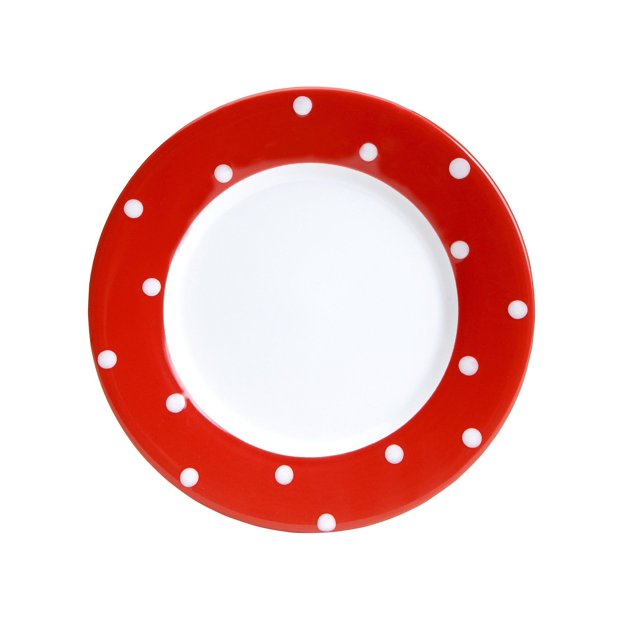 Farmstead Collection Red Dotty Side Plate