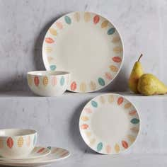 Cosy Skandi Collection 12 Piece Dinner Set