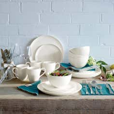 Jamie Oliver Ridge Collection 16 Piece Dinner Set
