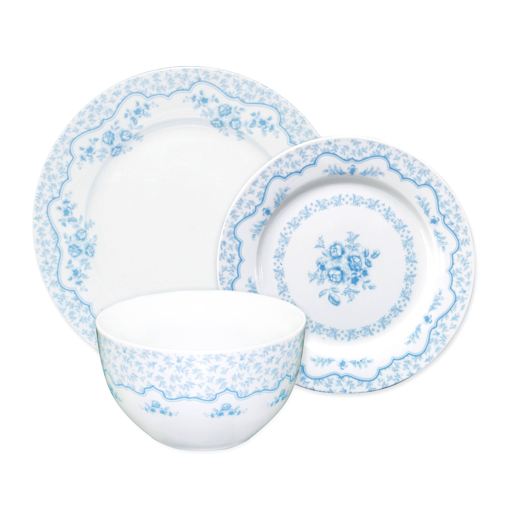 Chateau Blue 12 Piece Dinner Set