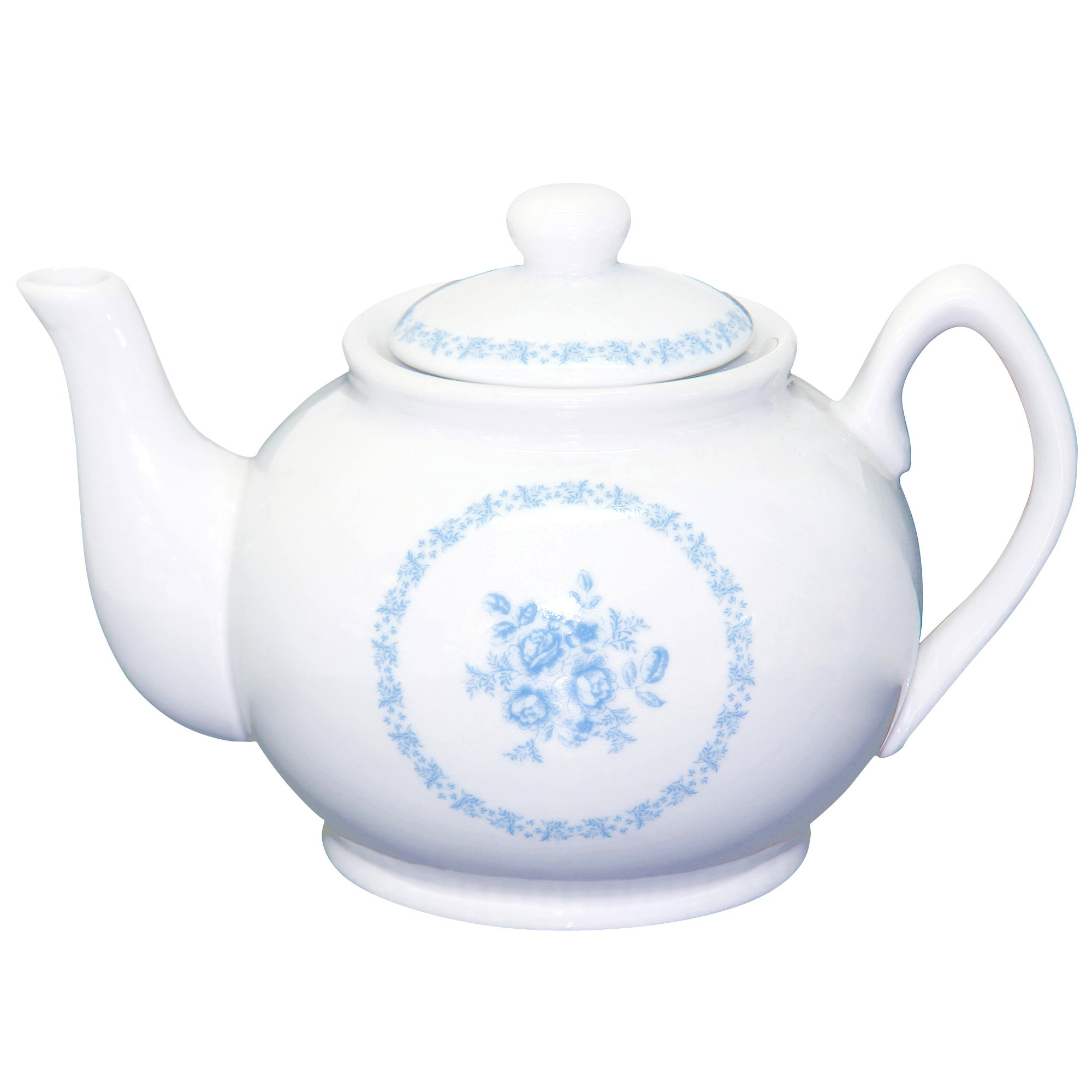 Chateau Collection Blue Teapot