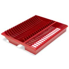Red Spectrum Collection Plate Rack
