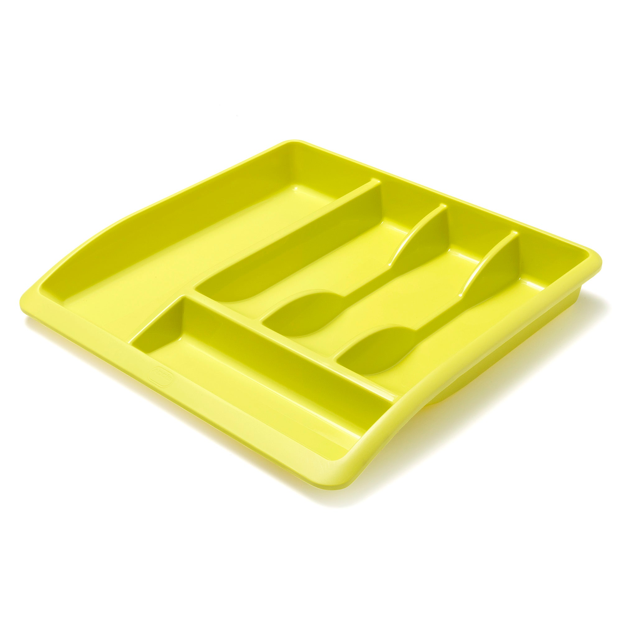 Lime Spectrum Collection Drawer Organiser