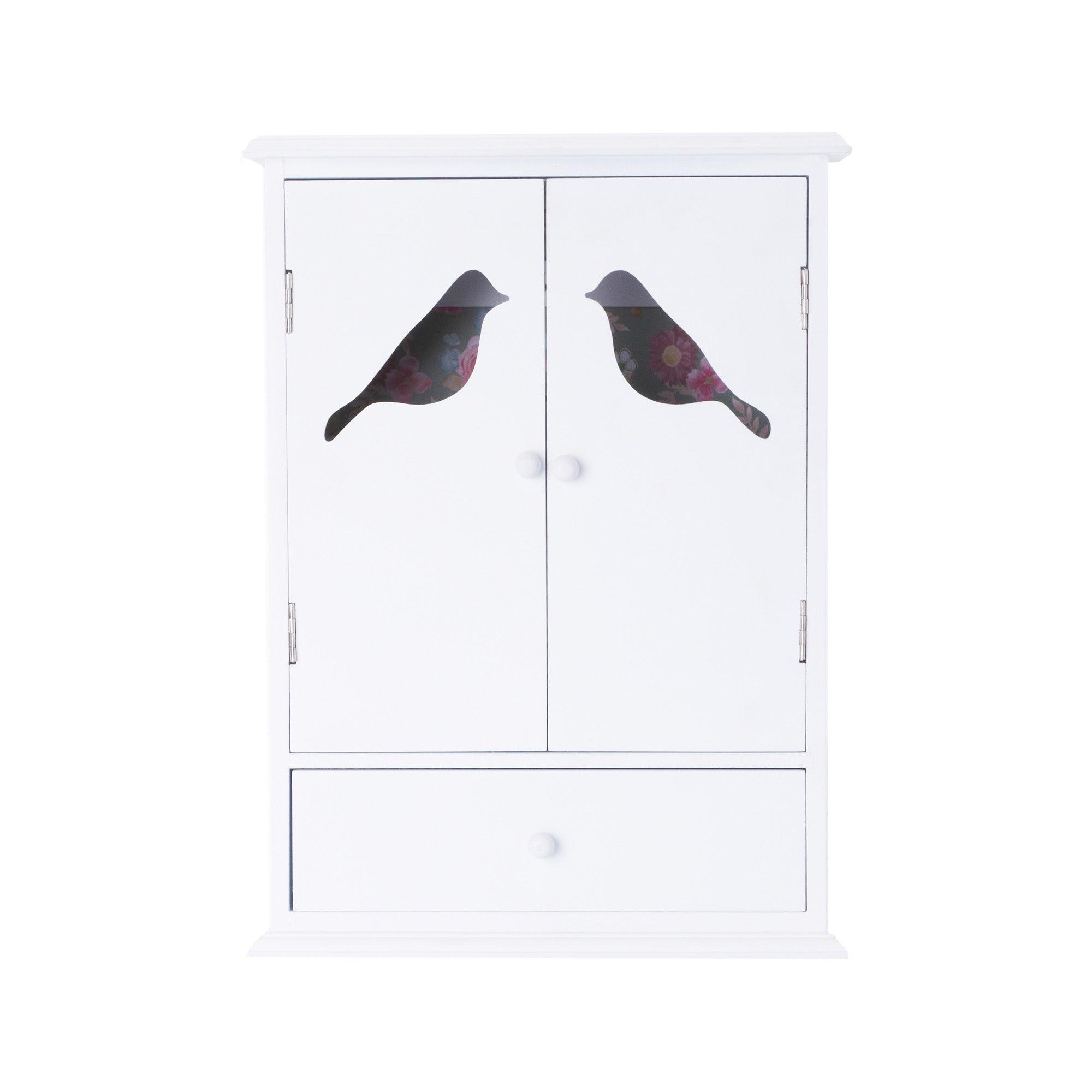 White Flora Collection Key Box