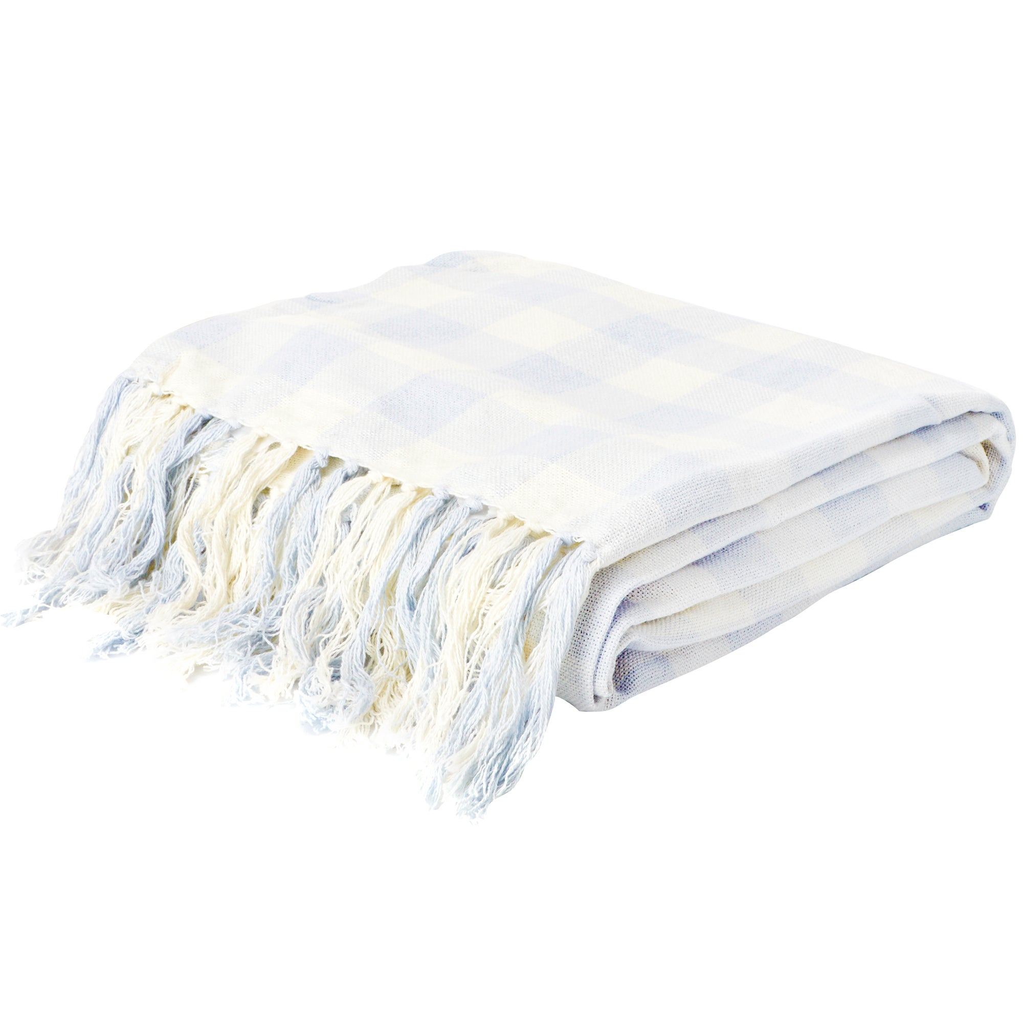 Gingham Throw