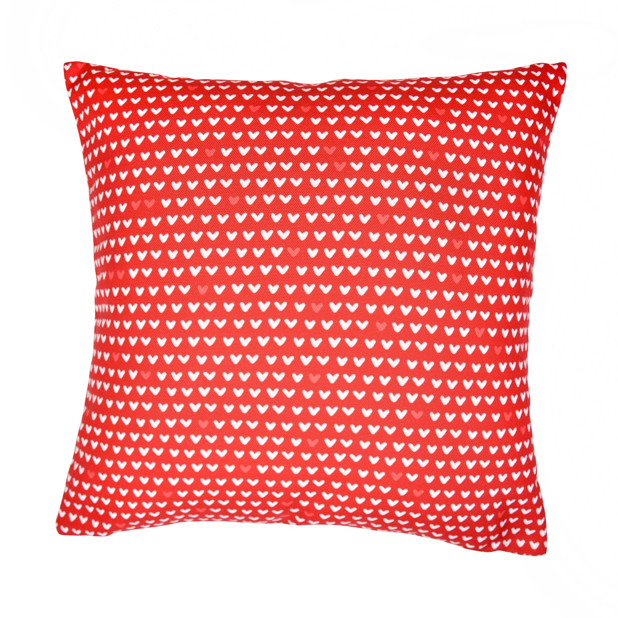 Printed Hearts Cushion