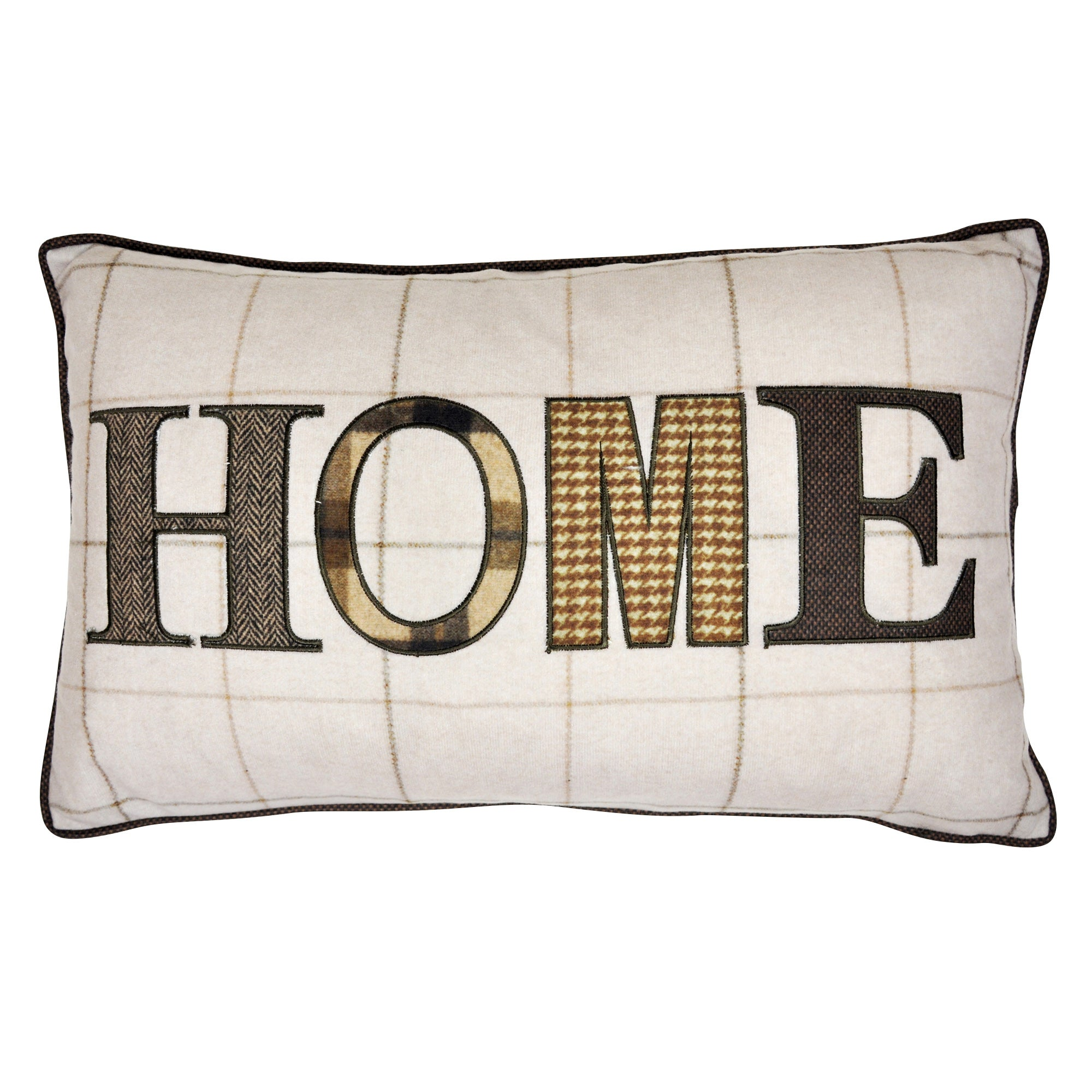 Patchwork Home Boudoir Cushion