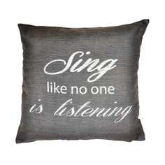 Sing Cushion Cover