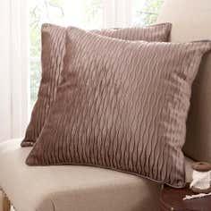 Mocha Opulence Collection Cushion