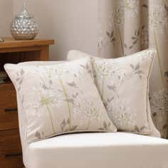 Natural Agapanthus Cushion
