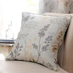 Natural Hawthorn Collection Piped Cushion
