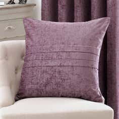 Mauve Chenille Collection Cushion