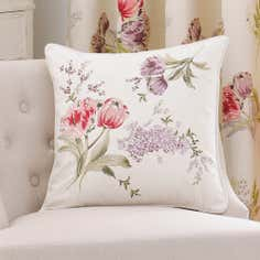 Red Tulip Collection Cushion