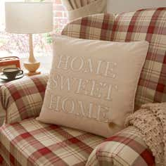 Natural Home Sweet Home Cushion