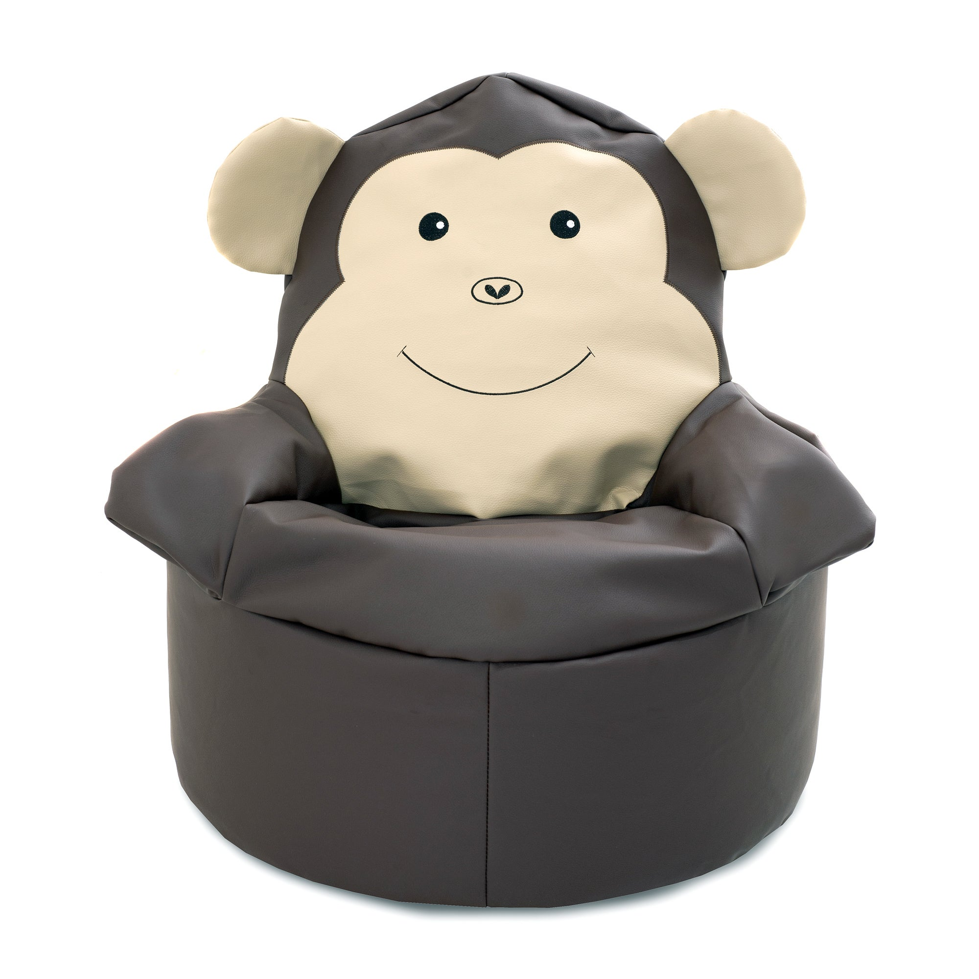 Kids Monkey Bean Bag Chair