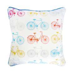 Vintage Bikes Cushion