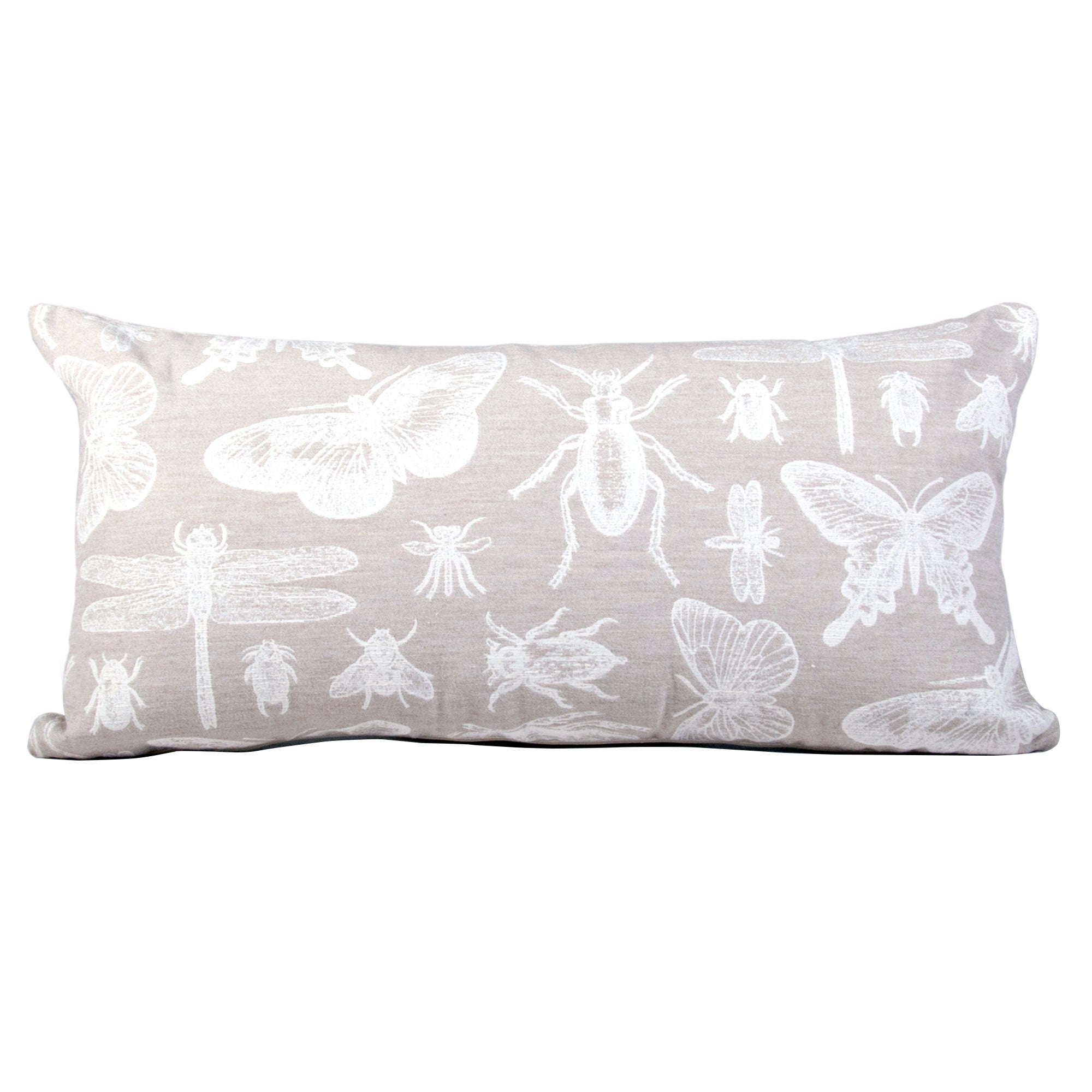 Natural Vintage Butterfly Cushion
