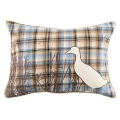 Duck Checked Boudoir Cushion