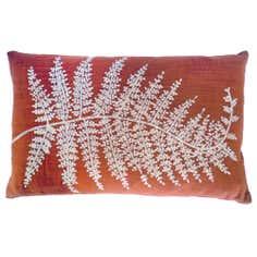 Fern Leaf Boudoir Cushion
