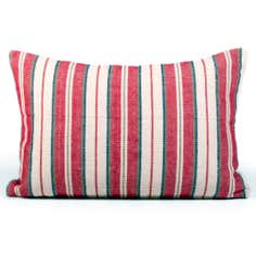 Linen Stripe Boudoir Cushion