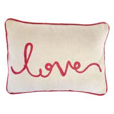 Love Script Cushion