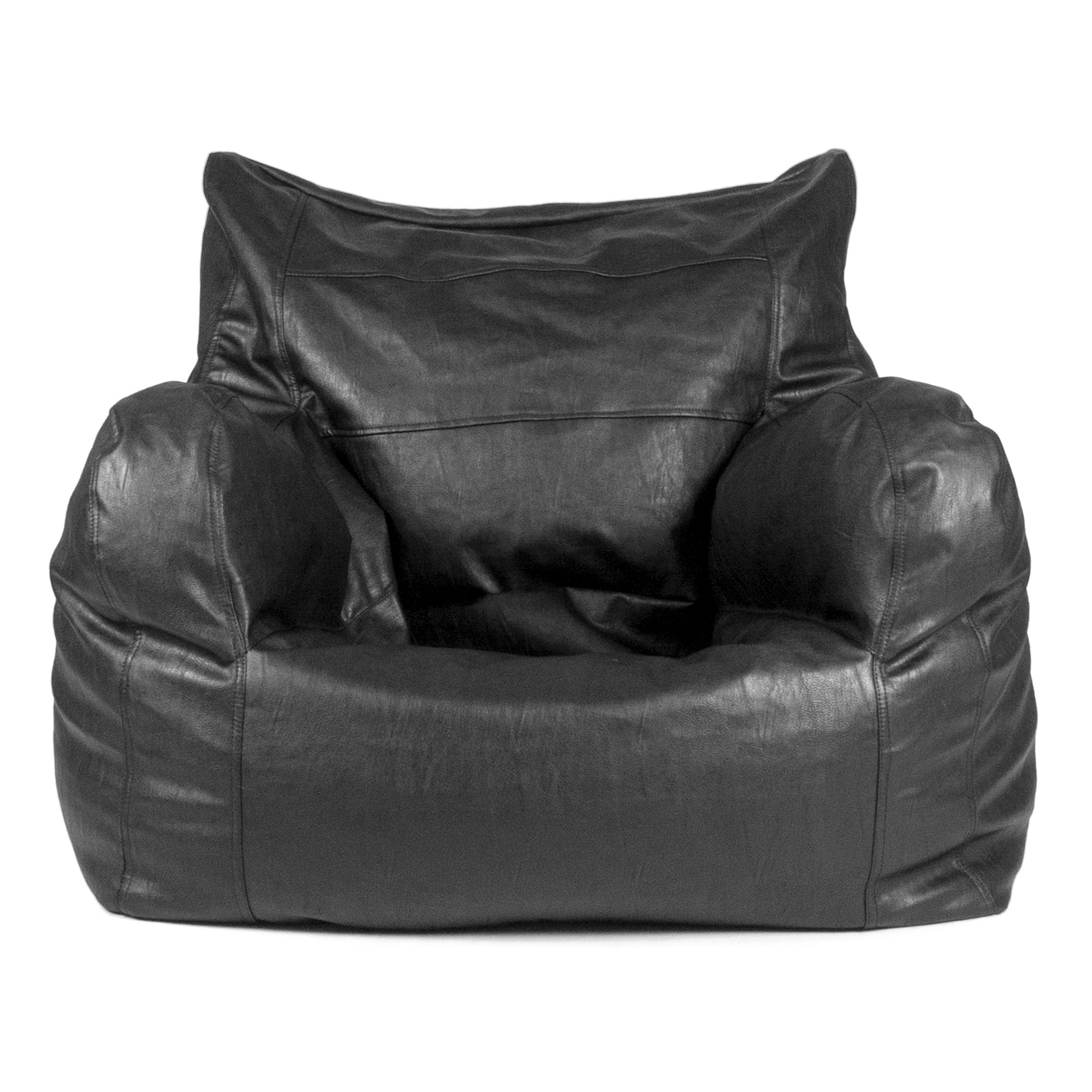 Black Luxury Leatherlike Easy Seat