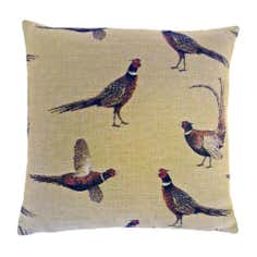 Pheasant Tapestry Cushion