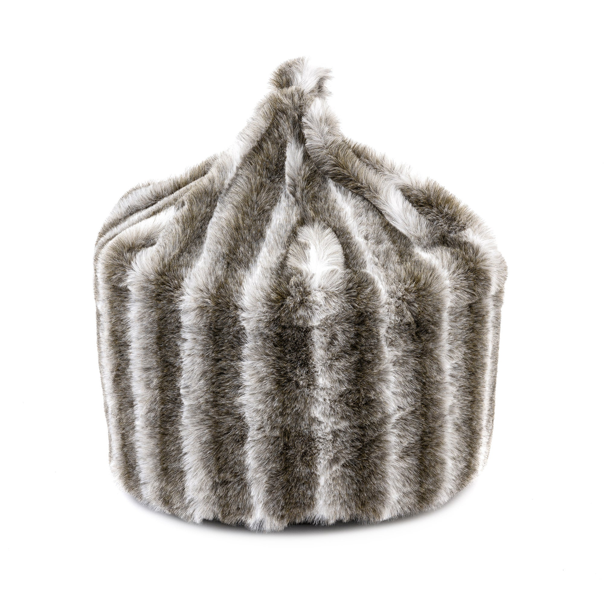 Pure Luxury Faux Fur Bean Bag