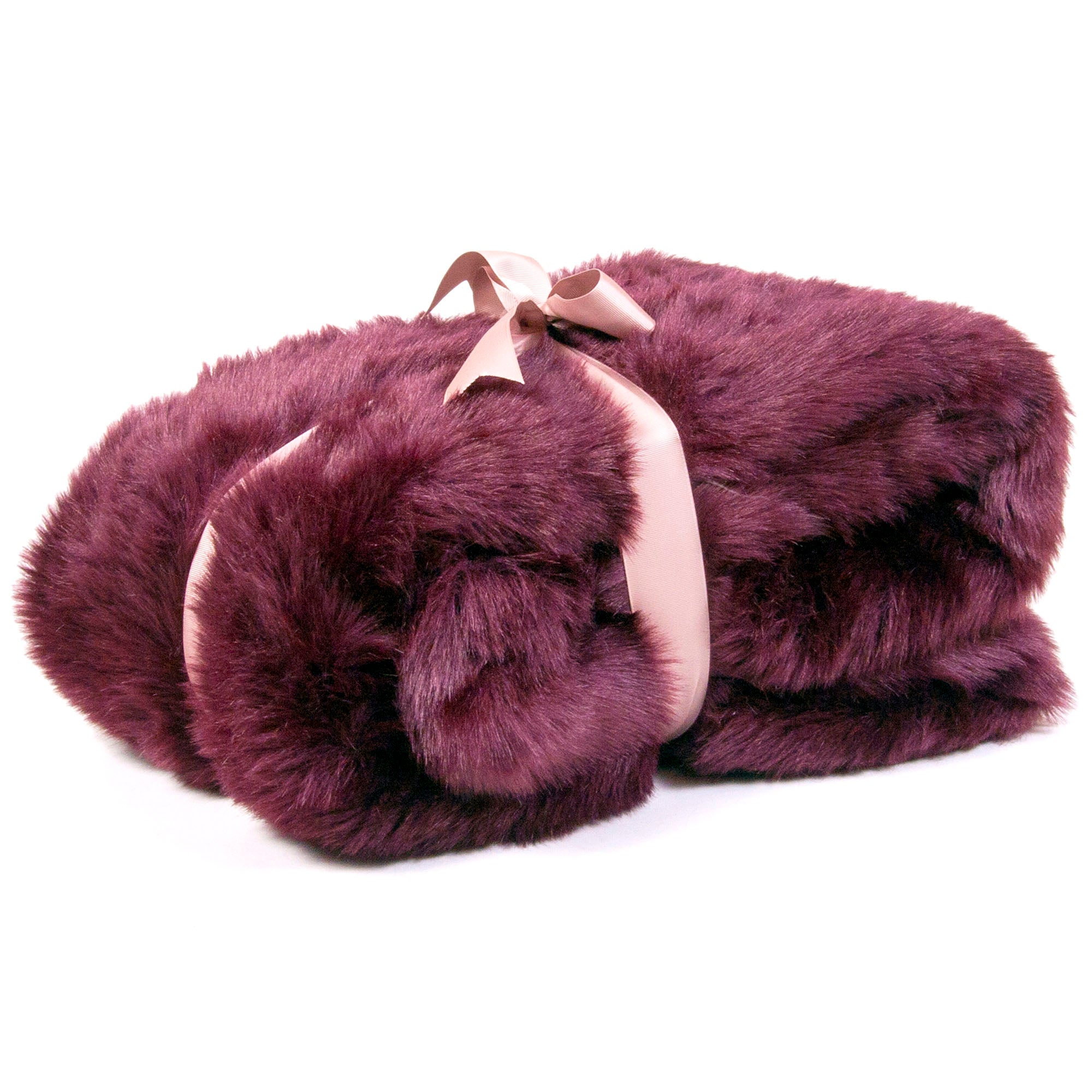 Pure Luxury Faux Fur Throw