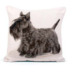 Scottie Tapestry Cushion