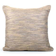 Gold Woven Reid Cushion
