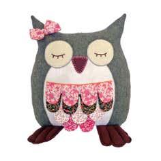Sleeping Owl Cushion
