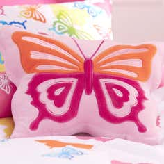 Kids Bright Butterflies 3D Cushion
