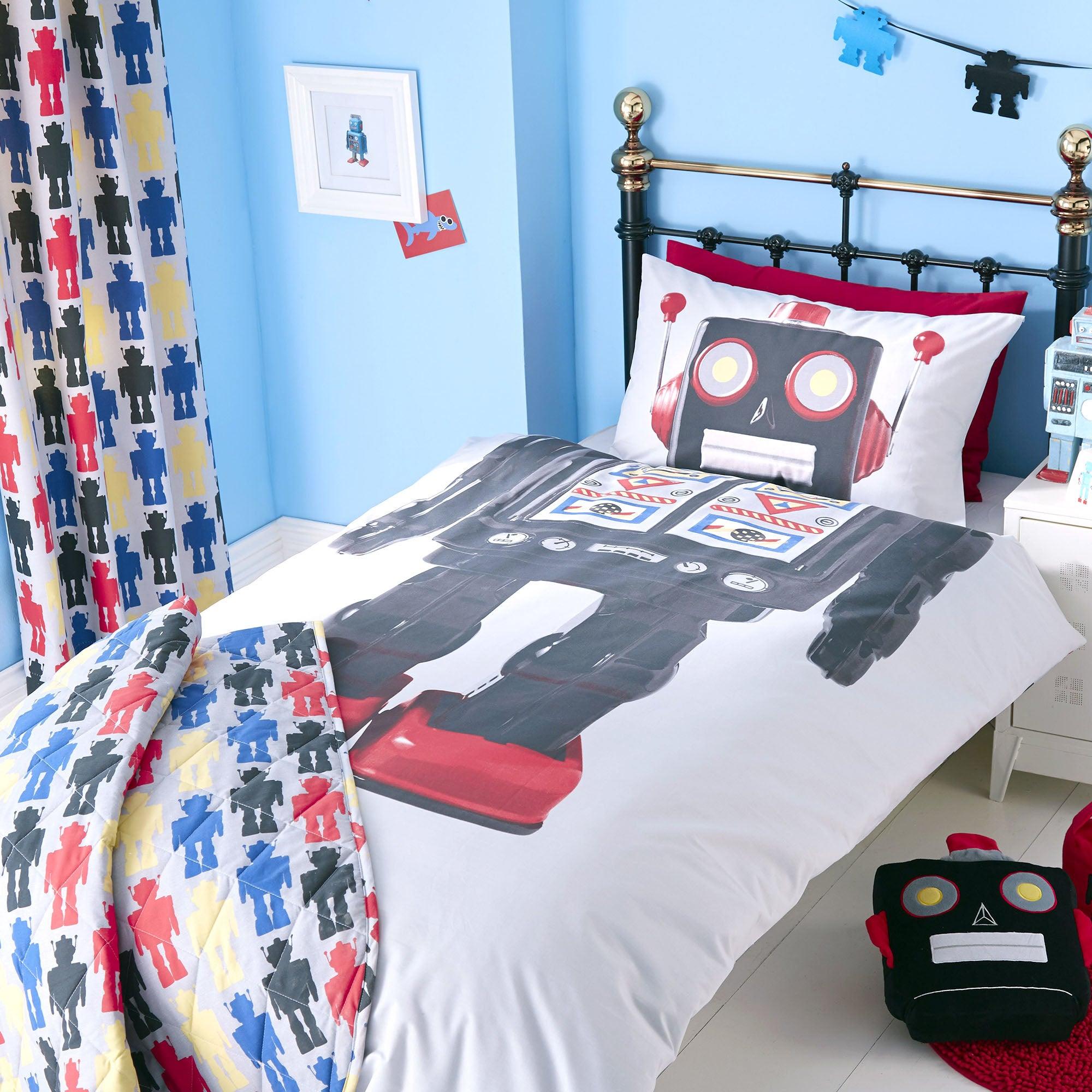 Kids Robot Collection Single Bedset