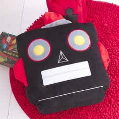 Kids Robot Collection Filled Cushion