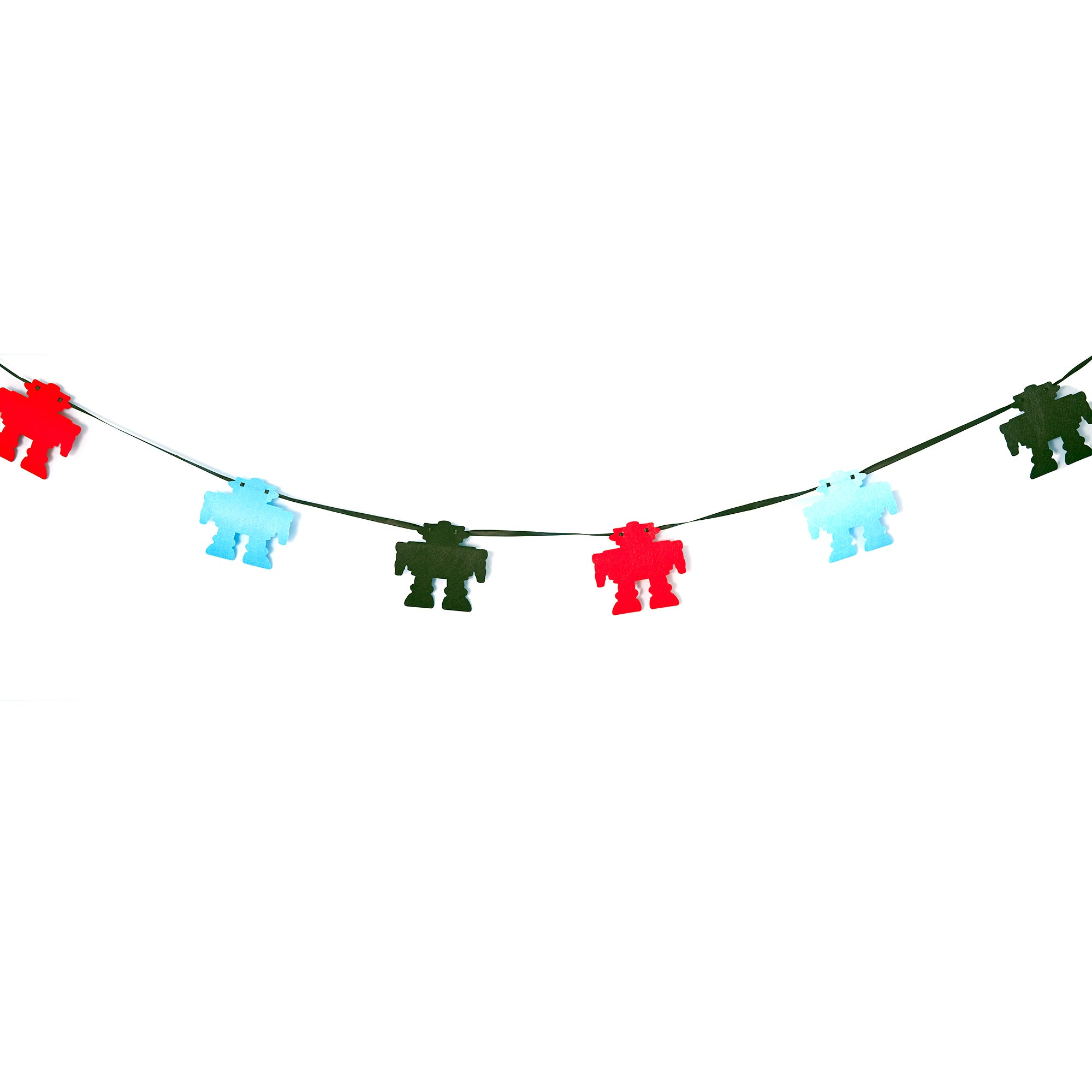 Kids Robot Collection Bunting