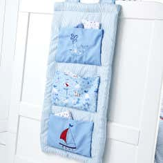 Kids Nautical Nursery Collection Cot Tidy