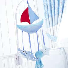 Kids Nautical Nursery Collection Cot Mobile