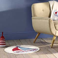 Kids Nautical Nursery Collection Rug