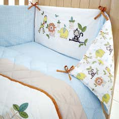 Kids Sweet Safari Collection Coverlet and Bumper