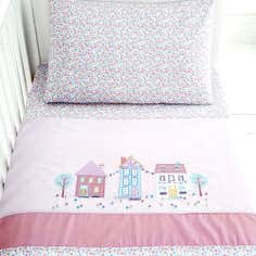 Kids Up and Away Collection Cot Bed Quilt Set